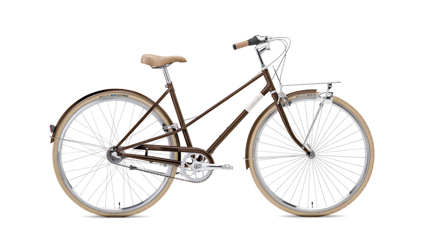 Creme Caferacer Lady Solo 3-speed dark brown
